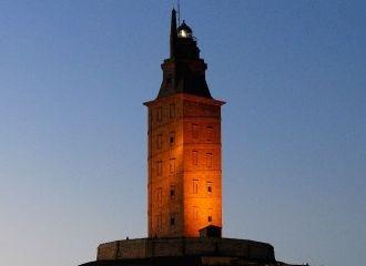 Torre hercules art