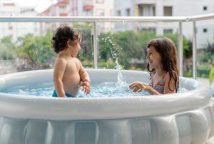 piscina terraza balcon peso agua
