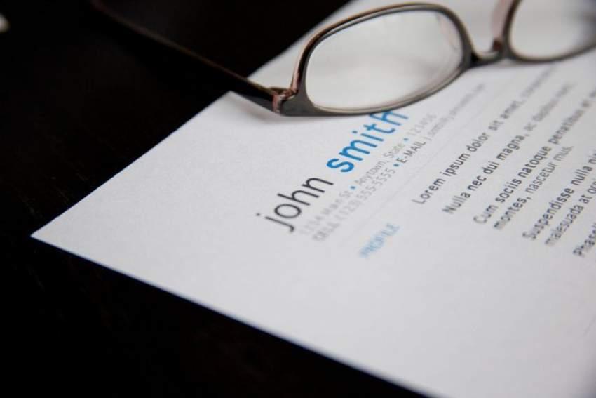 Redactar currículum sin experiencia