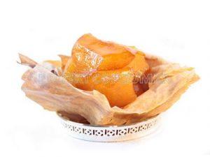 Tarta de frutas de temporada