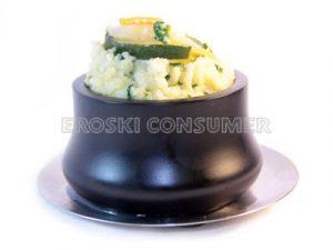 Cuscús con verduras y salteado de calabacín