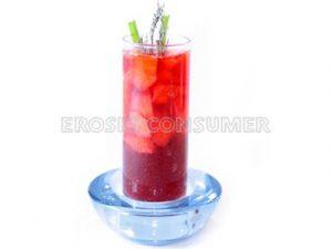 Vinagre de fresas y salsa agridulce de fresa