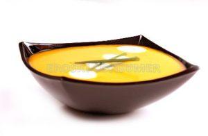 Crema de zanahoria con yogur