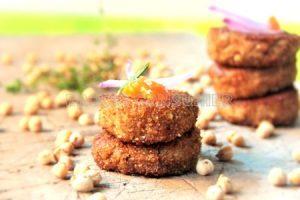 Hamburgueses de falafel