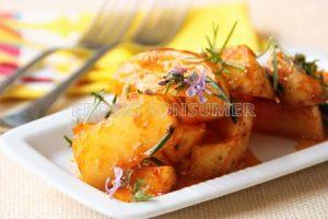 Patatas cajún al horno