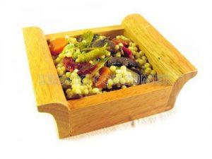 Guisado de bulgur con hortalizas