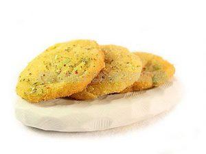 Falafel fritos con hortalizas
