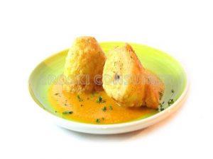 Patatas rellenas de mejillones