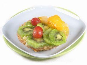 Tartaleta de frutas frescas