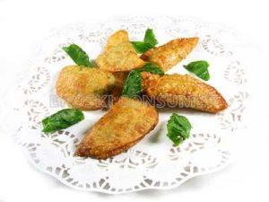 Empanadillas de espinacas y queso de Mahón