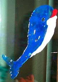 Img Delfin pegatina Correo