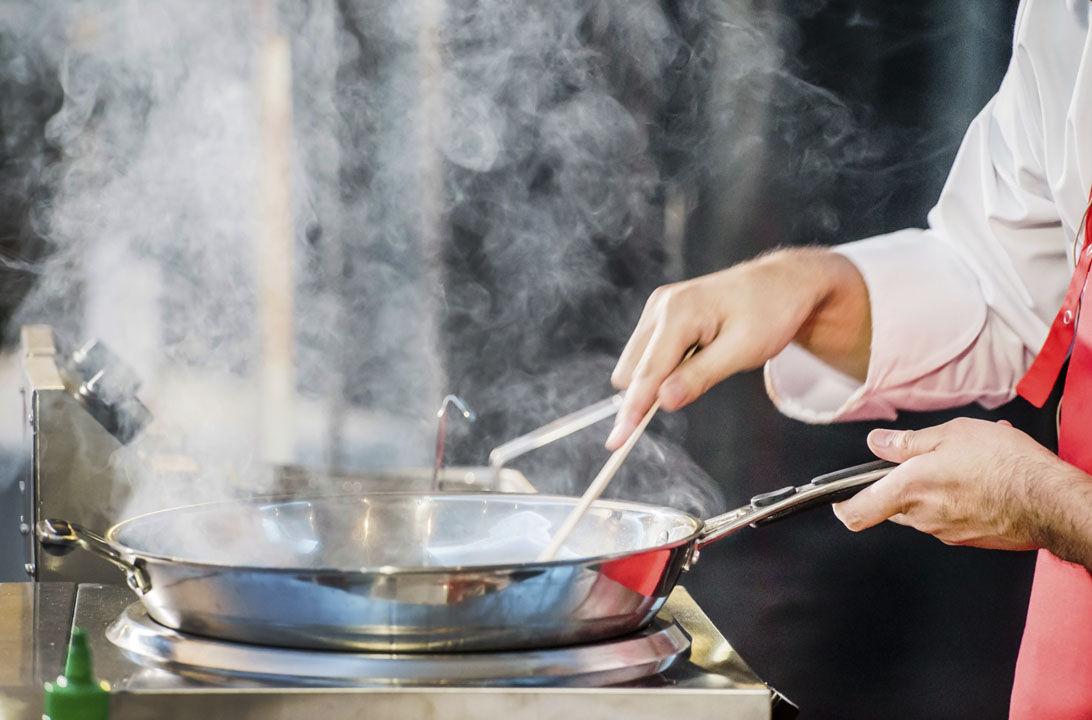 Img aceite quemado cocinar hd