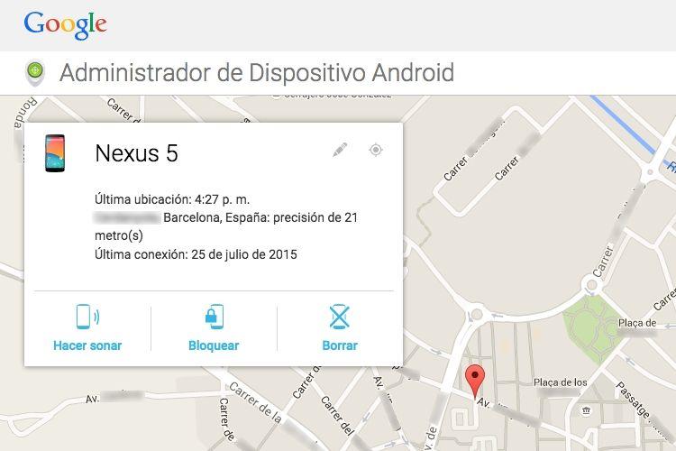 Img administrador dispositivos android