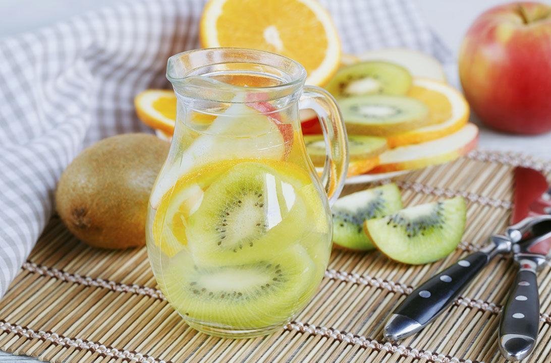 Img agua kiwi manzana hd