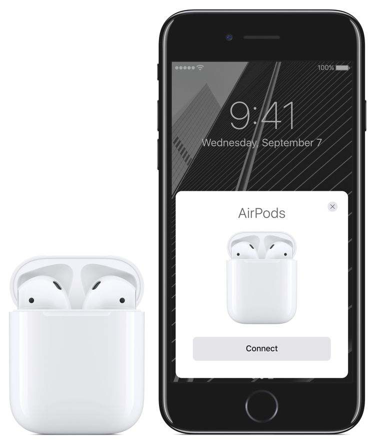 Img airpods conectar iphone