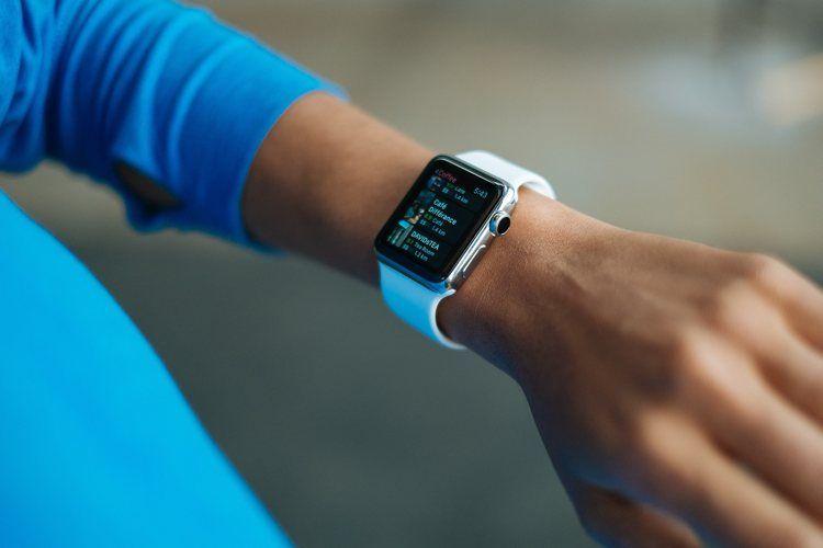 Img apple watch en uso