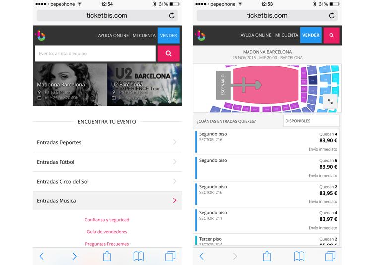 Img apps comprar entradas