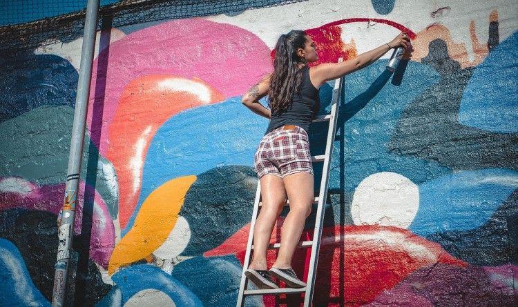 Img arte solidario grafiti art
