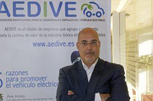 Arturo Pérez de Lucia, director general de l'Associació Empresarial per al Desenvolupament i Impuls del Vehicle Elèctric (AEDIVE)