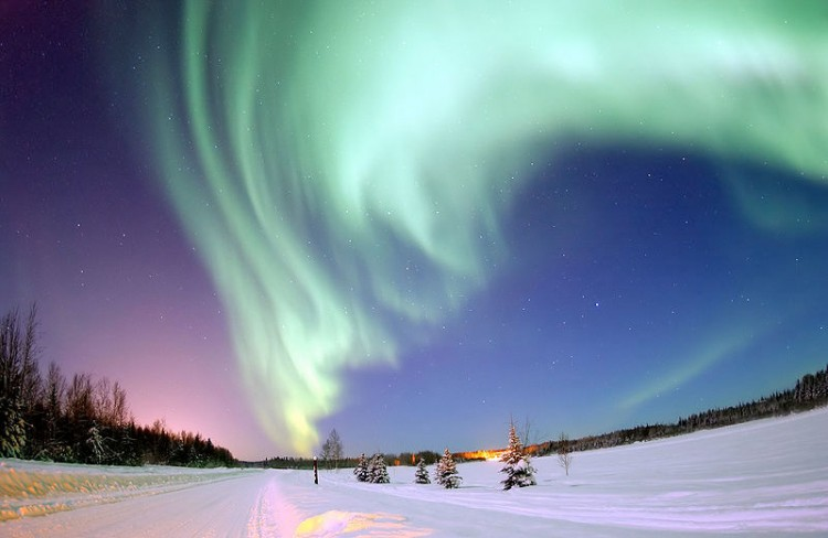 Img aurora boreal estrellas