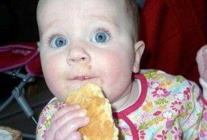 Img bebe galleta