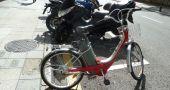 Img bicicleta electrica aparcada hd