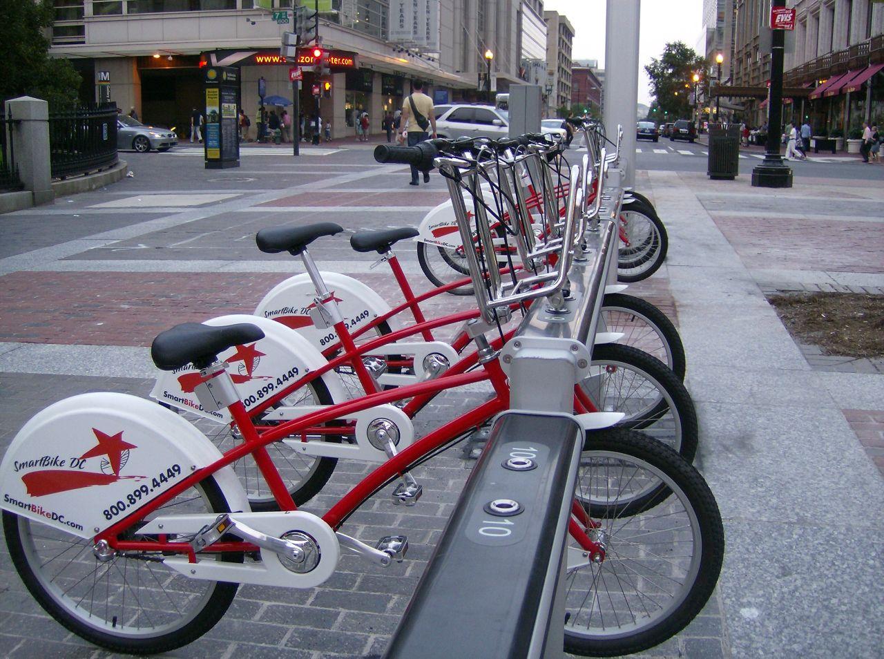 Img bicicleta publica hd