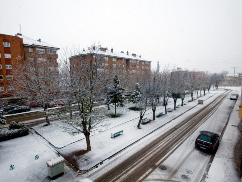 Img calle nevada hd