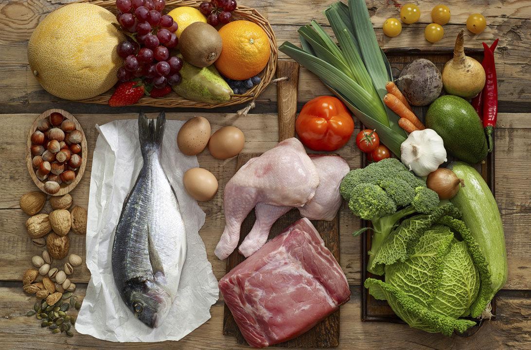 Img carne pescado cada comida hd