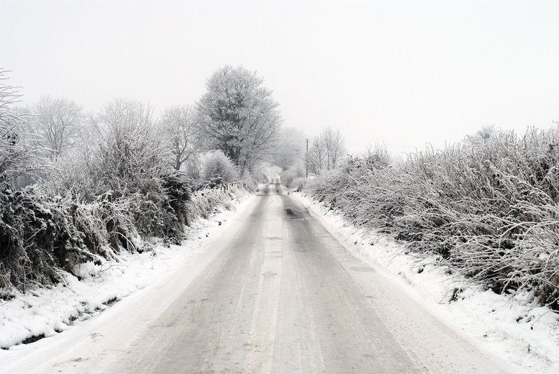 Img carretera helada