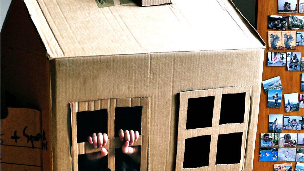 Juegos De Niños Muy Ecológicos Fabricar Casas De Cartón Y Tetrabriks Consumer