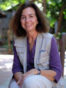 Clara Pardo, presidenta de Mans Unidas
