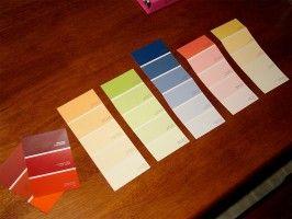 Artikuluen pinturaren koloreei buruzko irudia