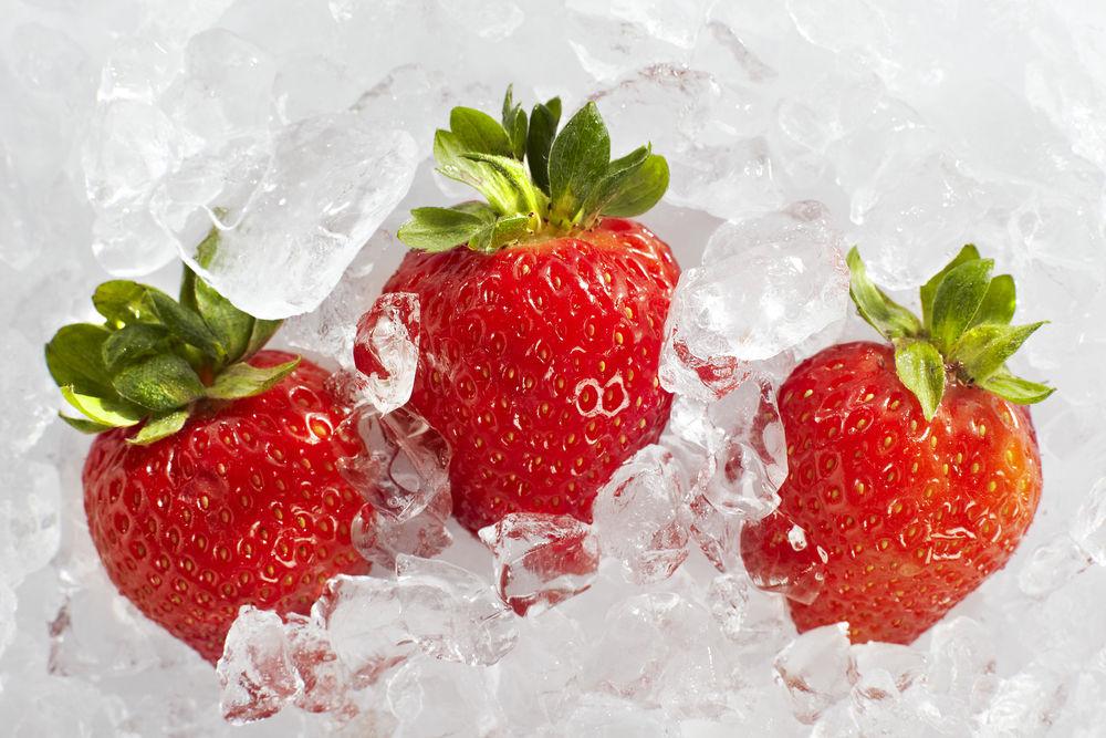 Img congelar fresas hd