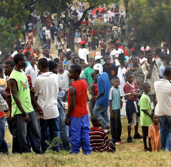 Img desplazados haiti