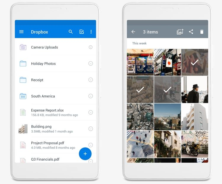 Img dropbox app movil
