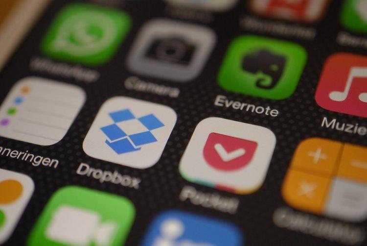 Img dropbox iphone app