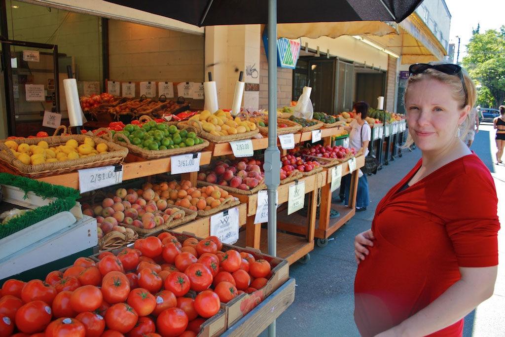 Img embarazada verduras