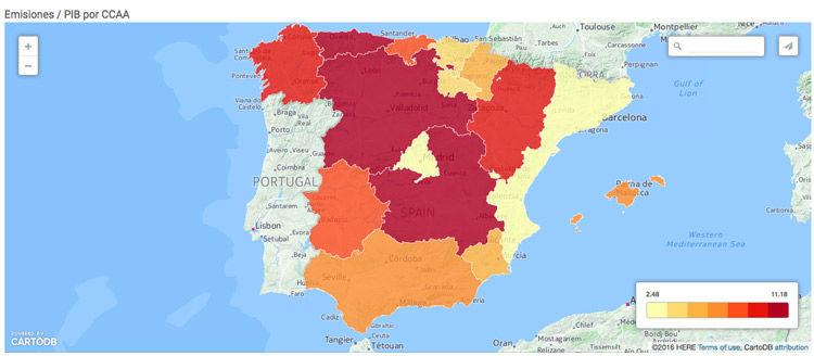 Img emisiones gei espana