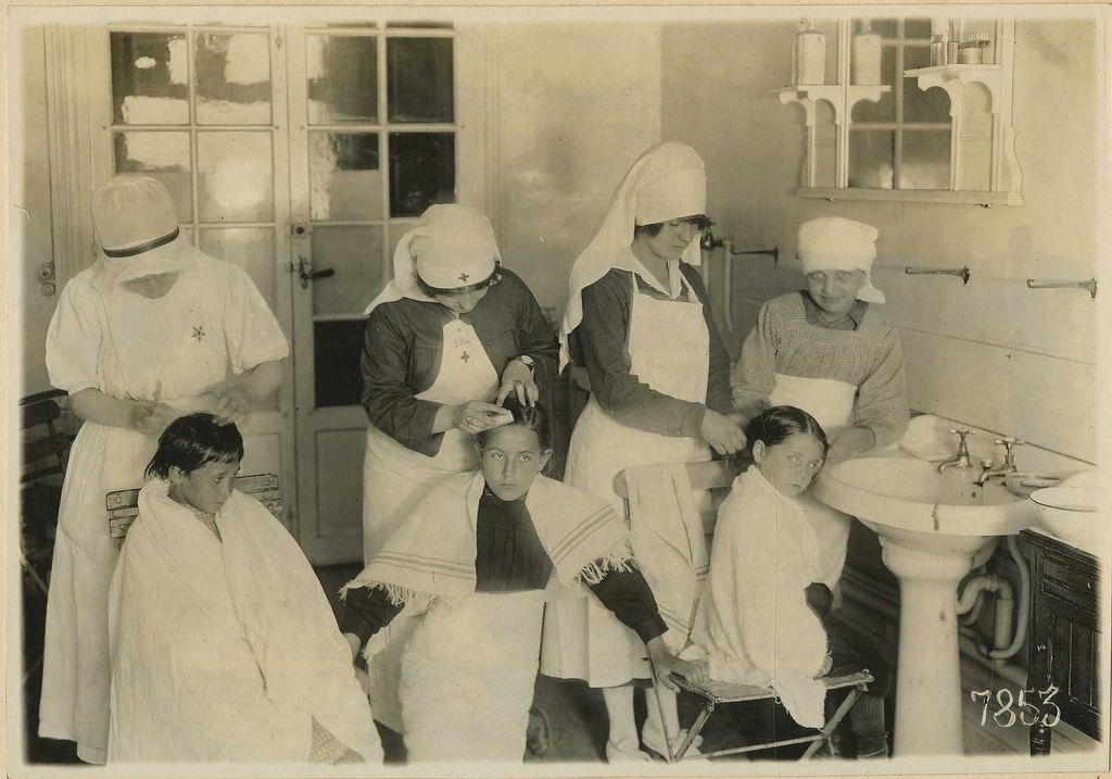 Img enfermeras piojos