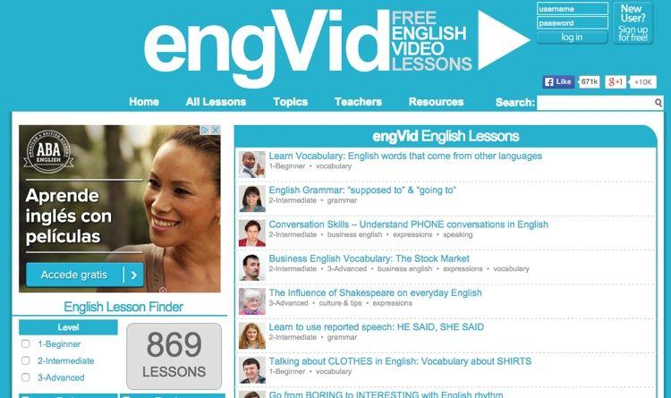 Img engvid aprender ingles