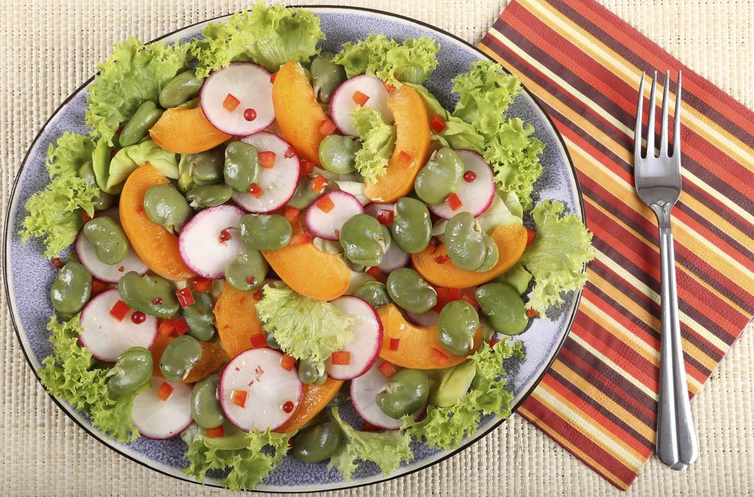 Img ensalada albaricoque hd