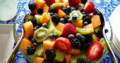 Img ensalada fruta playa hd