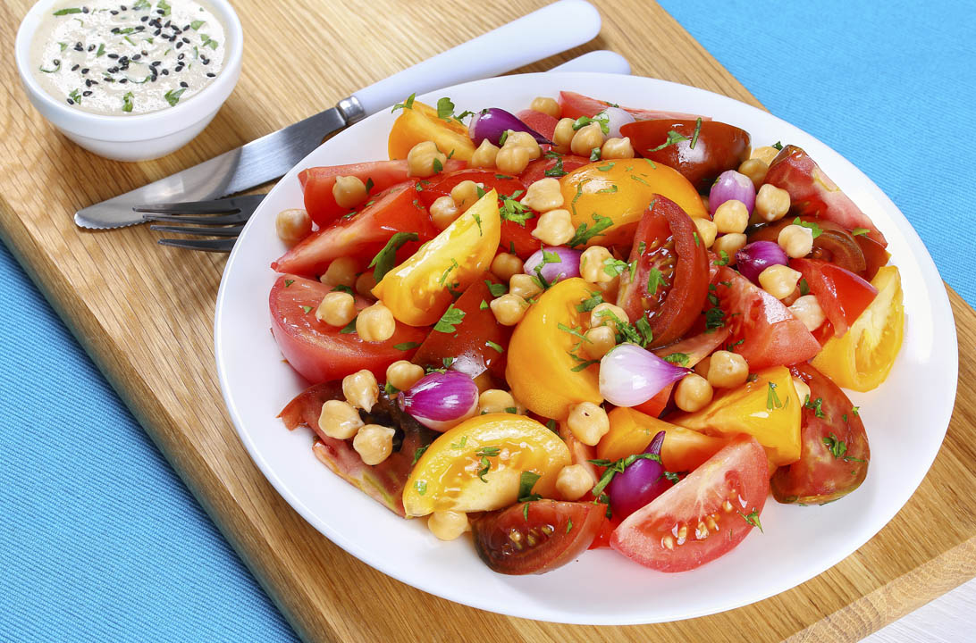 Img ensalada legumbres conservas hd