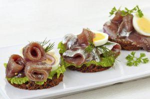 tosta anchoa recetas aperitivo