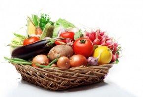 Fruta edo barazkiak ematen ditu