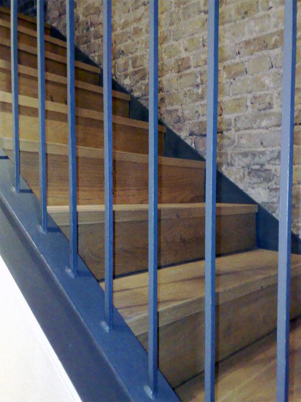 Img escaleras madera