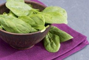 Img espinacas hoja verde