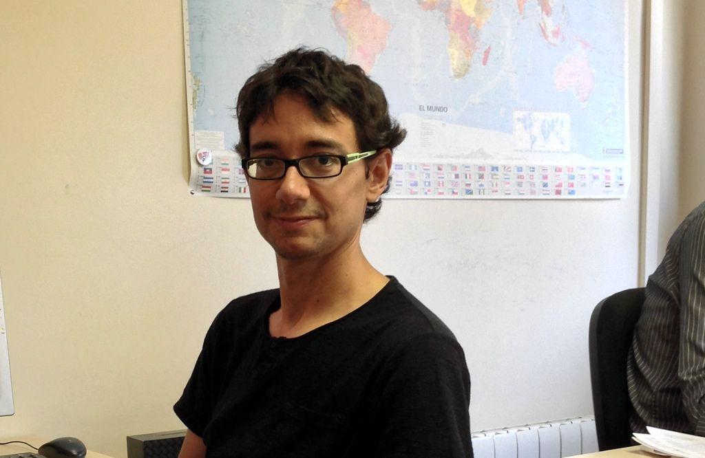 Marc Torras, conselleiro delegado de EntresD, primeira distribuidora española de impresoras en tres dimensións