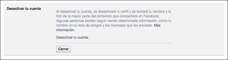 Img facebook desactivar cuenta